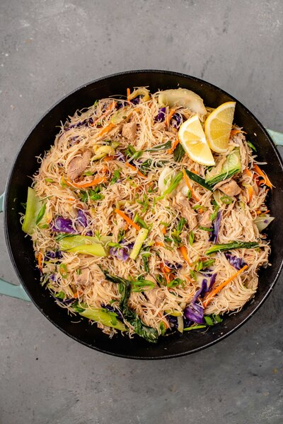 Jasmine Briones fun fact #4: I could eat Pancit for the rest of my life