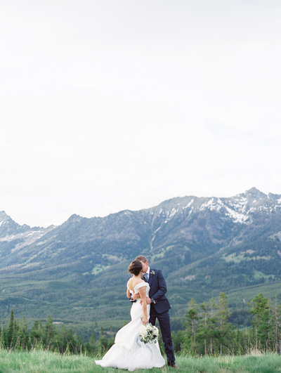 Moonlight Basin Wedding Montana Wedding Photographers