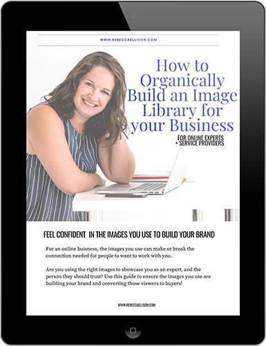 How to Organically Build an Image Library for your Business-sm