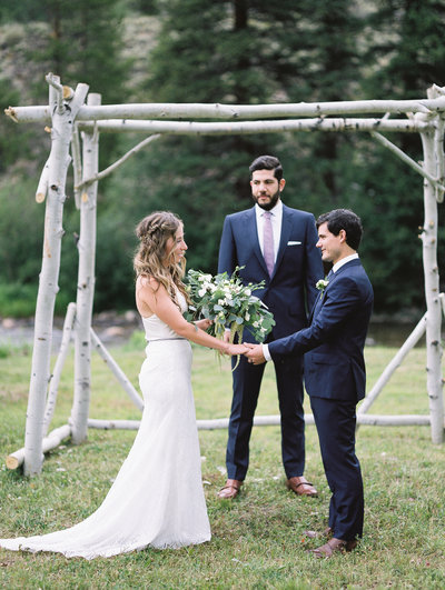 Aspen Canyon Ranch Wedding Colorado Photograper