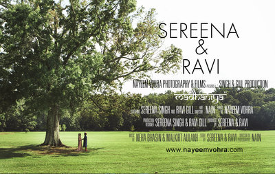 SEREENA & RAVI MOVIE POSTER