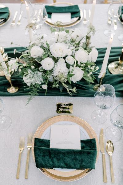 Ritz Charles Emerald Styled Shoot 2020 - Alison Mae Photography - Indianapolis Wedding Photographer-374