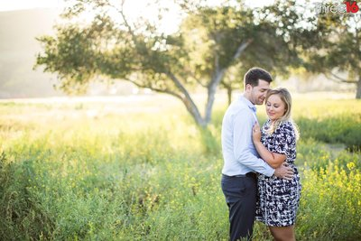 Northwest Open Space Engagement Photos San Juan Capistrano Orange County
