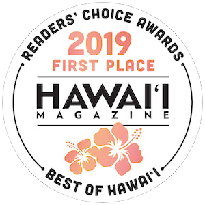 First Place - #1 Wedding planner in all of the Hawaiian Islands