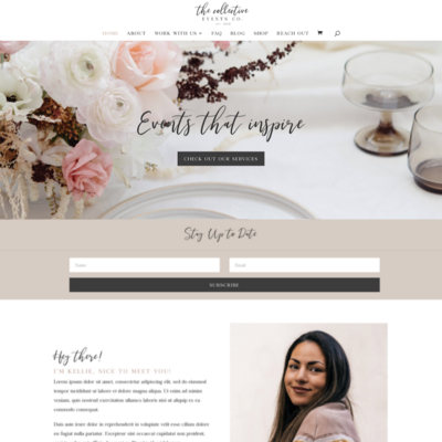The Collective Website Home