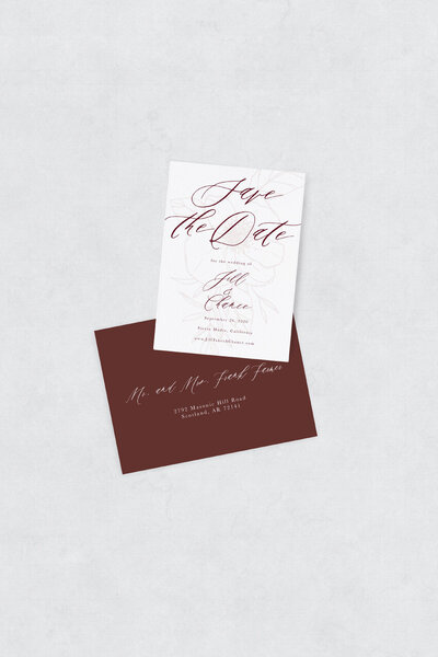 pirouettepaper.com | Wedding Stationery, Signage and Invitations | Pirouette Paper Company | Semi Custom Invitations | The Bloom 15