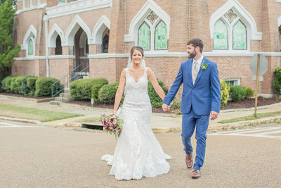 A Southern Fall Wedding | Brookhaven, Mississippi