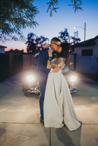 An Arizona Wedding that took place at the Desert Botanical Gardens in Phoenix, Arizona