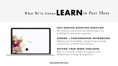 Online marketing course for photographers