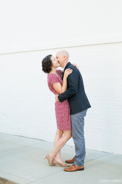 Lynne Reznick Photography Boston Wedding Photographer  Headshot with Husband Scott