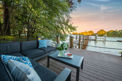 Lake Norman Porch sitting