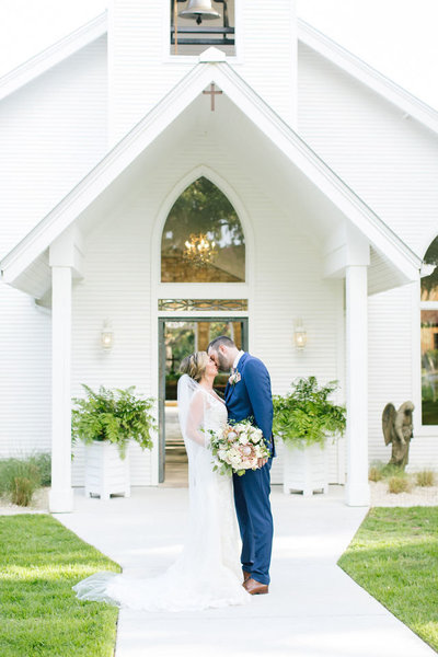 White Texas Wedding Chapel