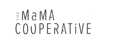 The Mama Cooperative Logo (stacked secondary logo)