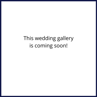 This wedding gallery is coming soon!