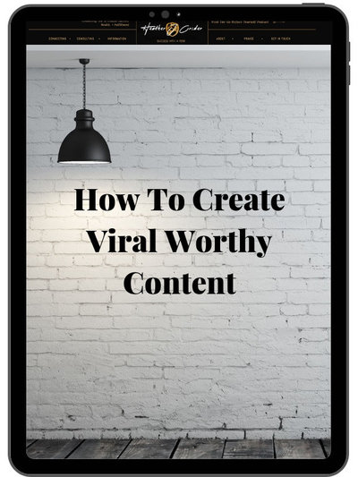 Heather Crider Site Image Ipad How to create viral worthy content