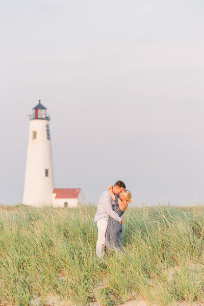 Kelly & Spencer's Nantucket Engagement 043