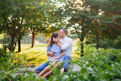 Springton Manor Engagement Session Chester County PA 01