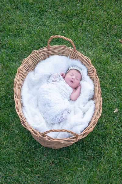 Newborn Baby photograph by One Shot Beyond Photography based in Orange County, California