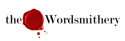 The Wordsmithery logo - dark