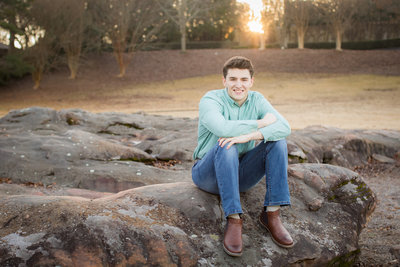 Macon Senior Photographer
