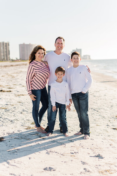 Clearwater Beach Family Portrait