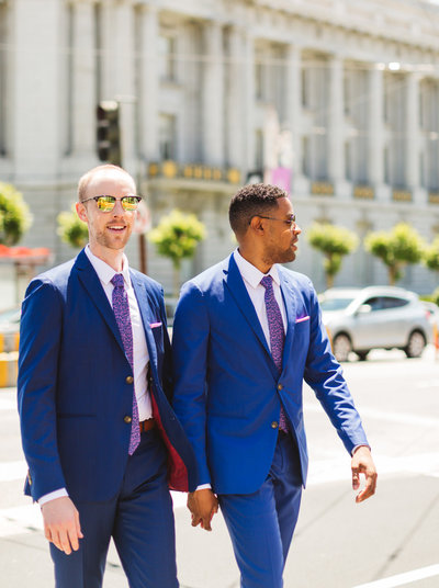 Zoe Larkin is a San Francisco City Hall wedding photographer who loves photographing LGBTQ+ couples