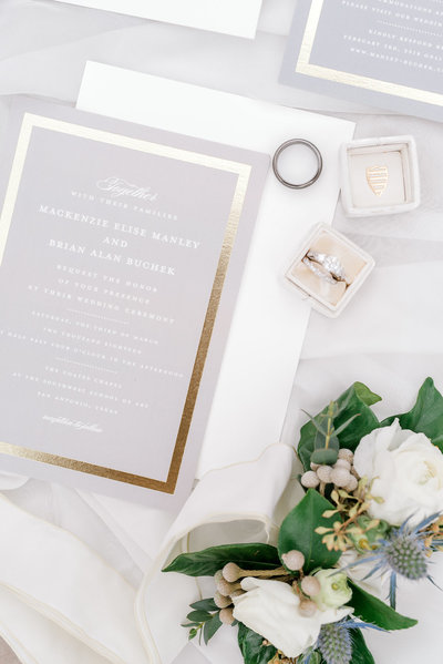 Touch of Whimsy - With Grace and Gold - Photo - Branding for Wedding Planners - 1