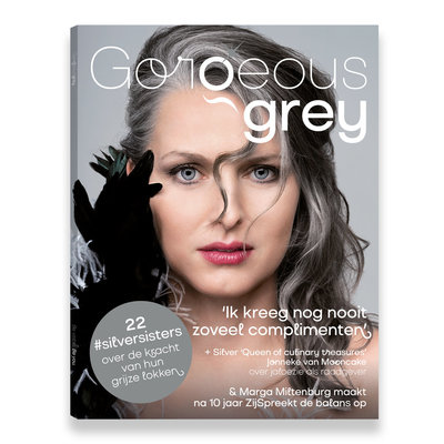Gorgeous Grey Magazine Cover