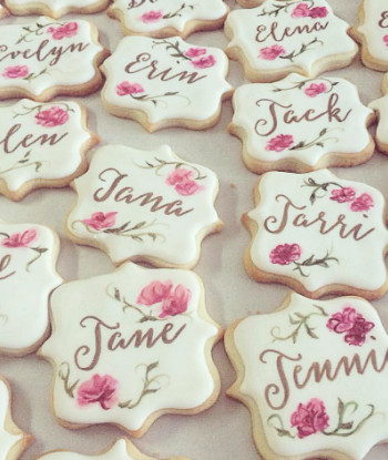 Whippt Custom Sugar Cookie - floral