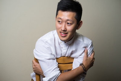 Portrait of David Suh, the owner of David Suh Photography