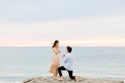 Babsie-Ly-Photography-Surprise-Proposal-Photographer-San-Diego-California-Sunset-Beach-001