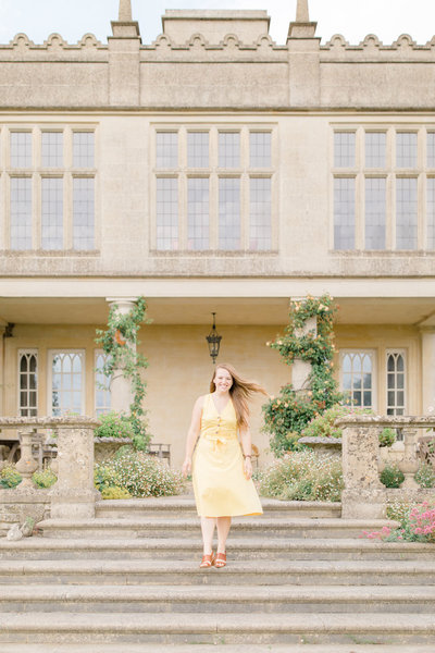 Portrait of Alexis, Willow and Oak's wedding planner in Provence, South of France