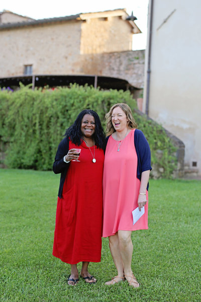 Womens Creative Retreat Tuscany Italy Faces