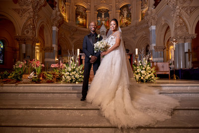 Steven Victor of Def Jam and Wife Wedding
