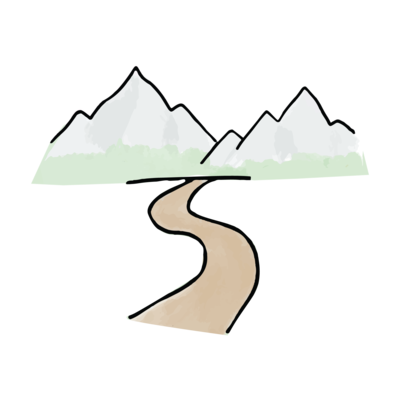 Elizabeth-Su---Brand-Assets---Mountains-Trail-Color-Transparent