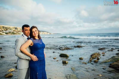Main Beach Laguna Engagement Photos Laguna