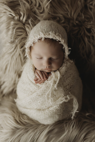 Boho Cumberland MD Newborn Session