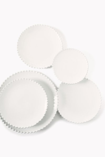 Product Photography for The Collection White Plates