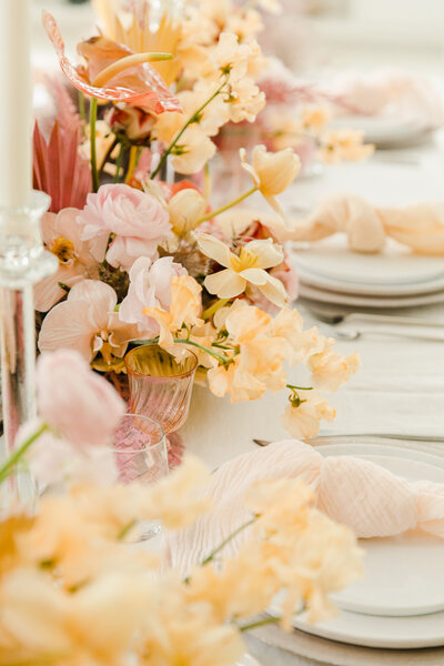 LUXURY floral tablescape new york miami las vegas wedding planner