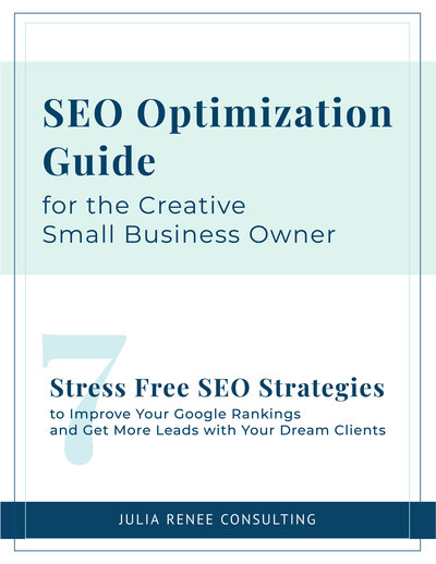 SEO optimization guide for the creative small business owner