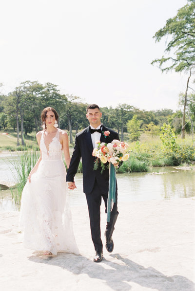Bride and Groom in Texas
