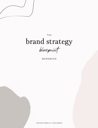 brand strategy blueprint workbook