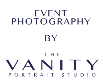 Event Photography by The Vanity Portrait Stuio Logo