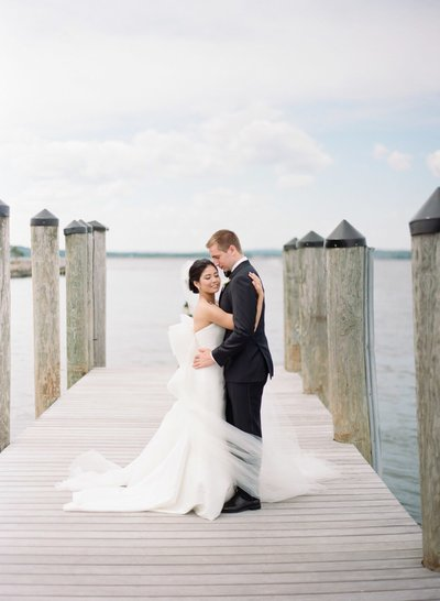 Romantic wedding at Saybrook Point Inn & Spa