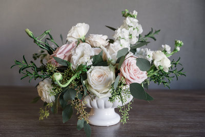 Garden Blush Med Centerpiece