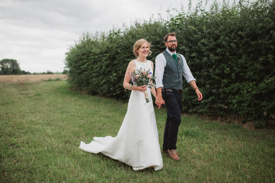 Minimalist botanical wedding photography norfolk