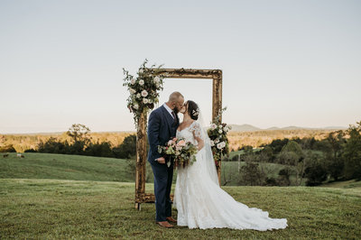 Laurel Elise Events Family Farm Virginia Wedding