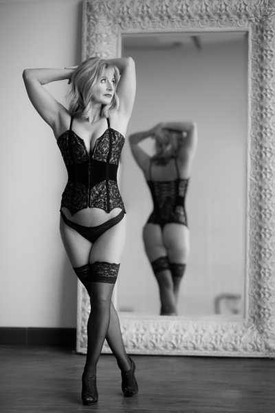 50 and fabulous boudoir in Raleigh