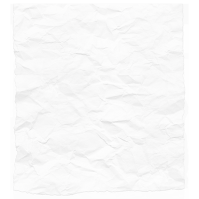 crinkled piece of paper