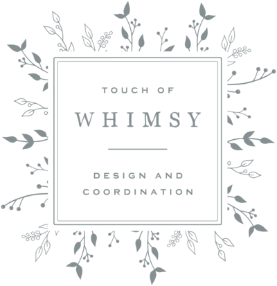 Touch of Whimsy - Logo Design by With Grace and Gold